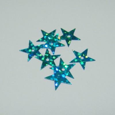 Paiete albastre stelute 13mm - 100 buc 2 g