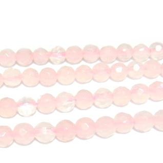 Cuart roz multifete 6mm 1 buc