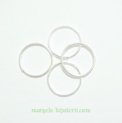 Zale simple argintii 12mm, grosime 1,1mm 100 buc
