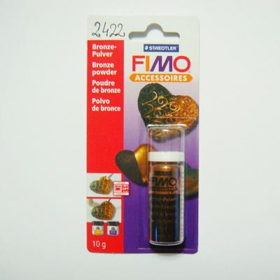 Pulbere metalizata, culoare bronz-10 gr 1 buc