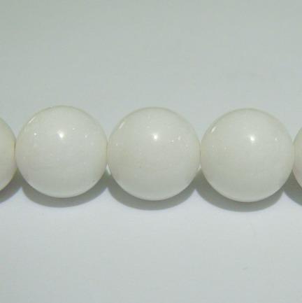 Sidef alb sferic 14mm 1 buc