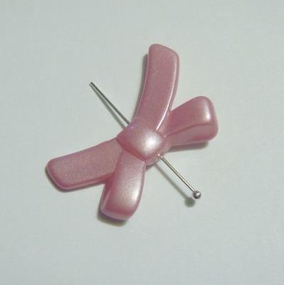 Fundite plastic roz 33x21 mm 1 buc