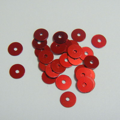Paiete plastic, rosii, 6mm-10gr(800-850 buc) 1 buc