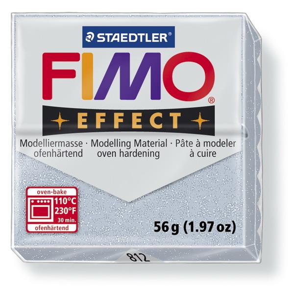 Plastelina fimo effect 56g cod cul 812 argintiu 1 buc