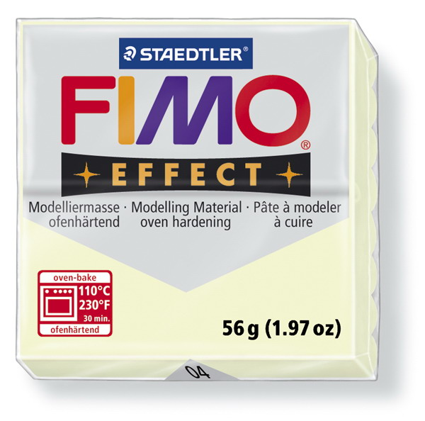 Plastelina fimo effect 56g cod cul 04 fluorescent 1 buc