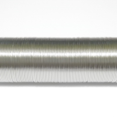 Sarma memorie inel argintiu inchis, 19mm- 65-70 spire 1 buc
