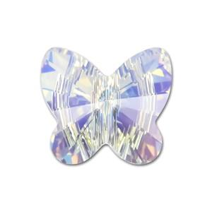 Swarovski Elements, Butterfly 5754-Cristal AB, 6 mm 1 buc
