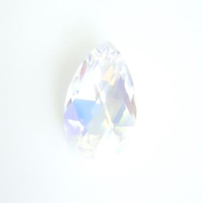 Swarovski Elements, Pear 6106 Cristal AB, 16mm 1 buc