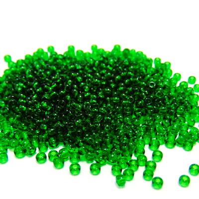Margele TOHO rotunde, 11/0 : Transparent Grass Green 20 g