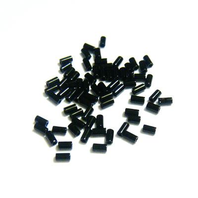 Margele TOHO tubulare, negre, 3mm 20 g