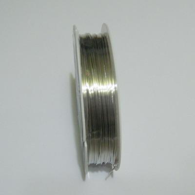 Sarma modelaj argintie 0.5 mm-rola aproximativ 10 metri 1 buc