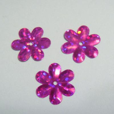 Paiete floricele roz 15mm 100 buc