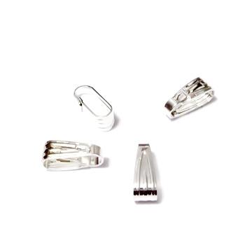 Accesoriu pandantiv placat cu argint 8x3mm 1 buc