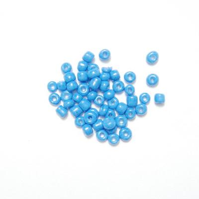Margele nisip albastru deschis, mate, 3mm 20 g