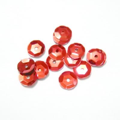 Paiete hexagonale rosii 6mm 3 g