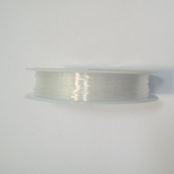 Fir elastic transparent 0.8mm-rola cca 9.5m 1 buc