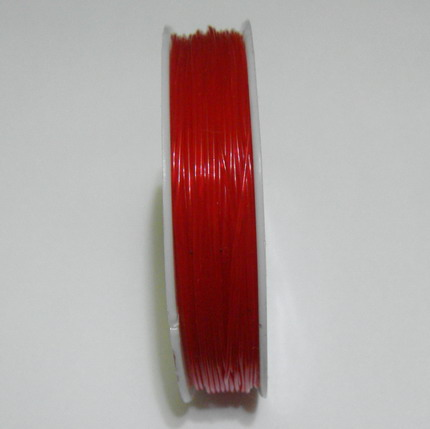 Elastic rosu 0.8mm 1 rola 20 m