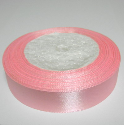 Panglica saten roz 20 mm 1 rola 22 m