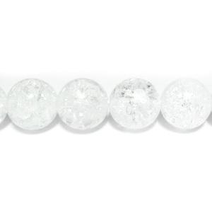 Cristal de gheata, sferic, 12mm 1 buc