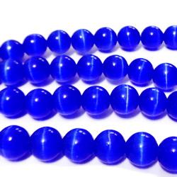 Ochi de pisica albastru-cobalt, 87.5mm 1 buc