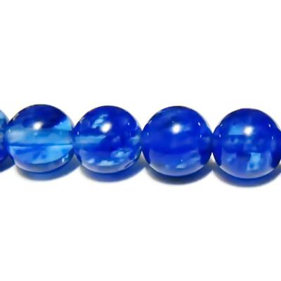 Cuart albastru inchis, 10mm 1 buc