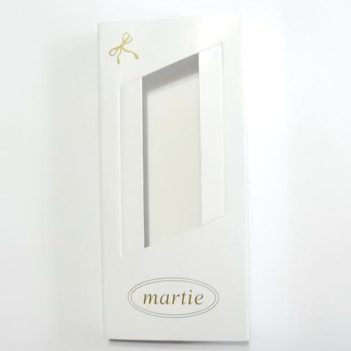 Cutii carton martisor, cu imprimeu auriu, 110x50 mm 10 buc