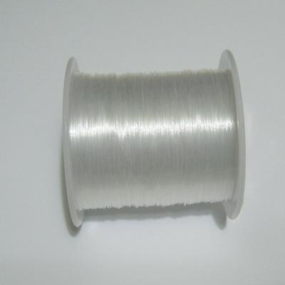 Fir nylon transparent (neelastic)  0.4mm - bobina 30 m 1 buc