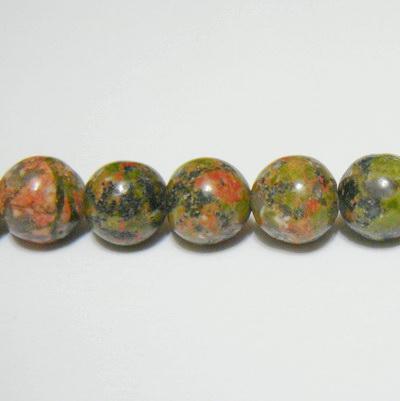 Unakite sfere 8,5mm 1 buc