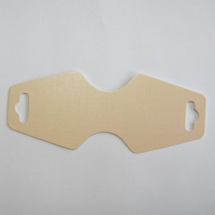 Etichete carton crem lucios, pt bijuterii, 125x50mm 10 buc
