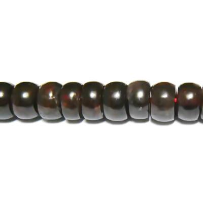 Granat rondele 7x4 mm 1 buc