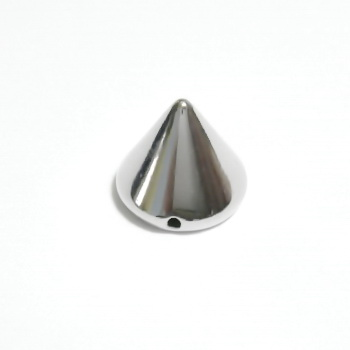 Tinte sintetice, argintii, pt. cusut, 12x10mm 1 buc