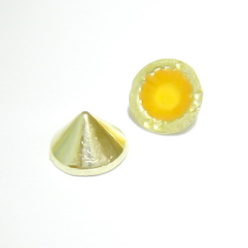 Tinte sintetice, aurii, pt. lipit, 9x6mm 1 buc