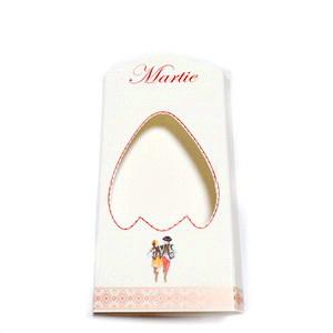 Cutie carton martisor, alba, 10x4.5x1cm 10 buc