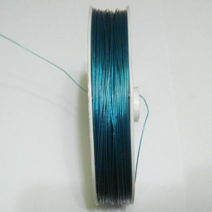 Sarma siliconata turcoaz 0.30mm 5 m