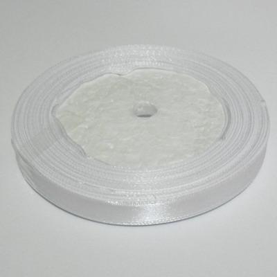 Saten alb 10 mm 1 rola 22 m
