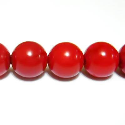 Coral rosu, sferic, 10mm 1 buc