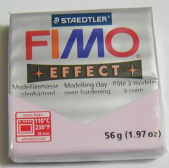 Plastelina fimo effect 56g cod cul 205 rose 1 buc