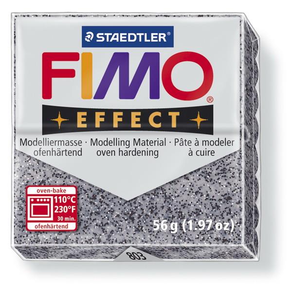 Plastelina fimo effect 56g cod cul 803, granit 1 buc