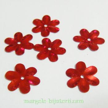 Paiete floricele rosii, 15mm-10 gr (200-220 buc) 1 buc