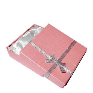 Cutie cadou roz,  90x90x25mm 1 buc