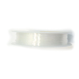 Fir elastic transparent 0.8mm-rola 6 m 1 buc