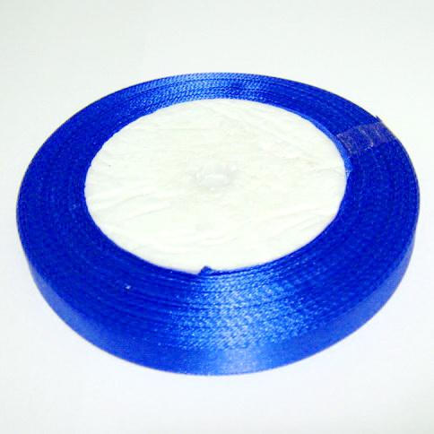 Saten albastru-cobalt, 10mm 1 rola 22 m