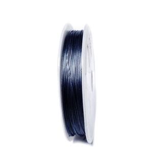 Sarma siliconata albastra, 0.45mm 5 m