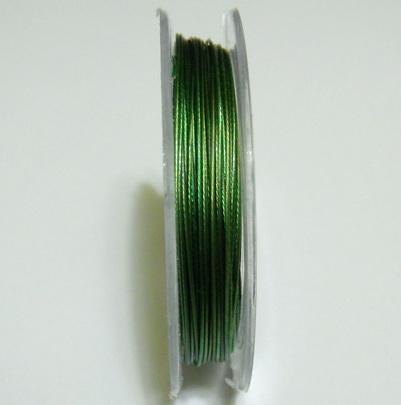 Sarma siliconata verde, 0.38 mm 1 rola 9 m