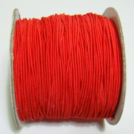 Ata elastica rosie, 1mm 1 m