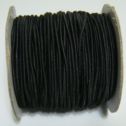 Ata elastica neagra, 1.2mm 1 m