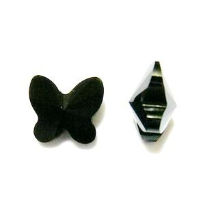 Swarovski Elements, Butterfly 5754-Jet, 8 mm 1 buc