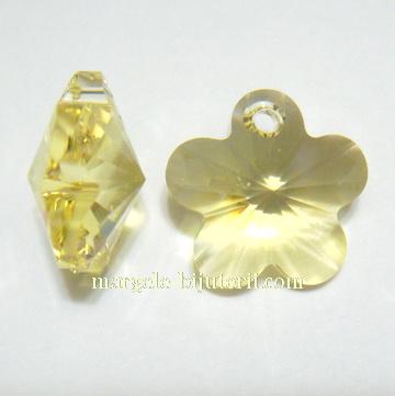 Swarovski Elements, Flower 6744-Jonquil, 12mm (1 buc) 1 buc