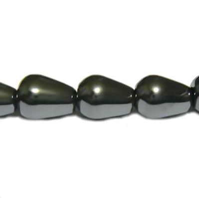 Hematite , lacrima 8x7mm 1 buc