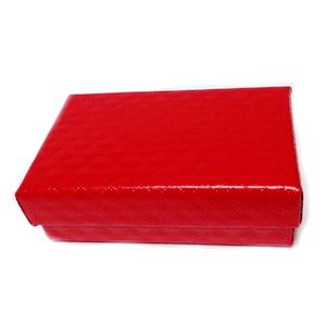 Cutie carton, rosie, 8x5x2.5 cm 1 buc